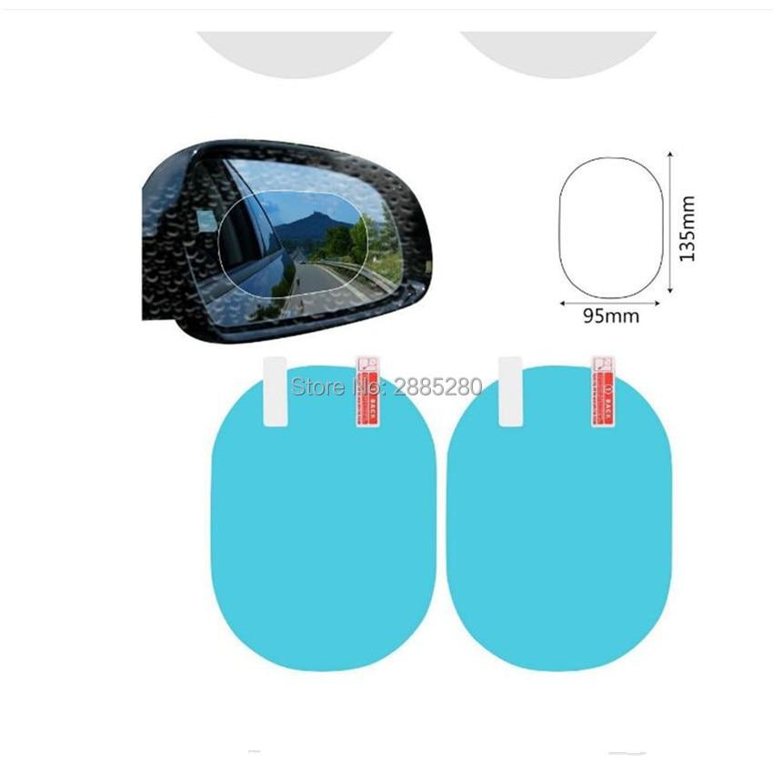 Espejo retrovisor para coche lluvia y anti-niebla película para fiat tipo bmw e36 clio i30 vw Tiguan asiento de leon 2 opel astra g jeep wrangler