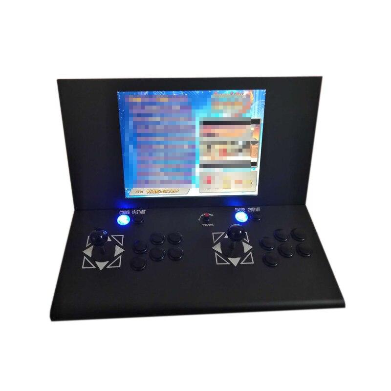 15/19 pulgadas LCD 1500 en 1 Retro Juegos Pandora 9 Máquina de juego de salón recreativo que funciona con monedas