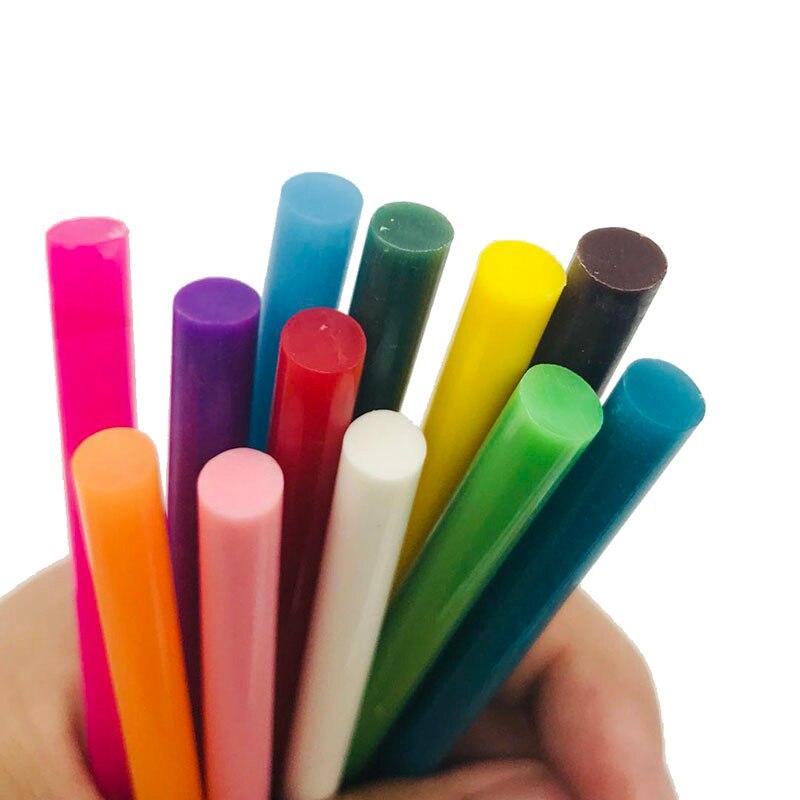 10 stücke 7*100mm Vintage Siegellack Farbige Kleber Stick Schmelzen Umschlag Einladung Stempel Sicherheit Verpackung Reparatur Werkzeug