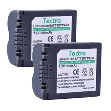 2 шт., аккумулятор CGA S006, CGA-S006A, CGR-S006E, для Panasonic Lumix fz50 fz8 fz38 fz7, DMW-BMA7, dmc-fz35, батарея для cgr-s006e