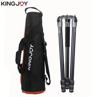 KINGJOY Official A65/A68 Carbon Fiber Camera Tripod Stand Tripe Monopod Dslr For All Models Movil Flexible Stativ SLR DSLR