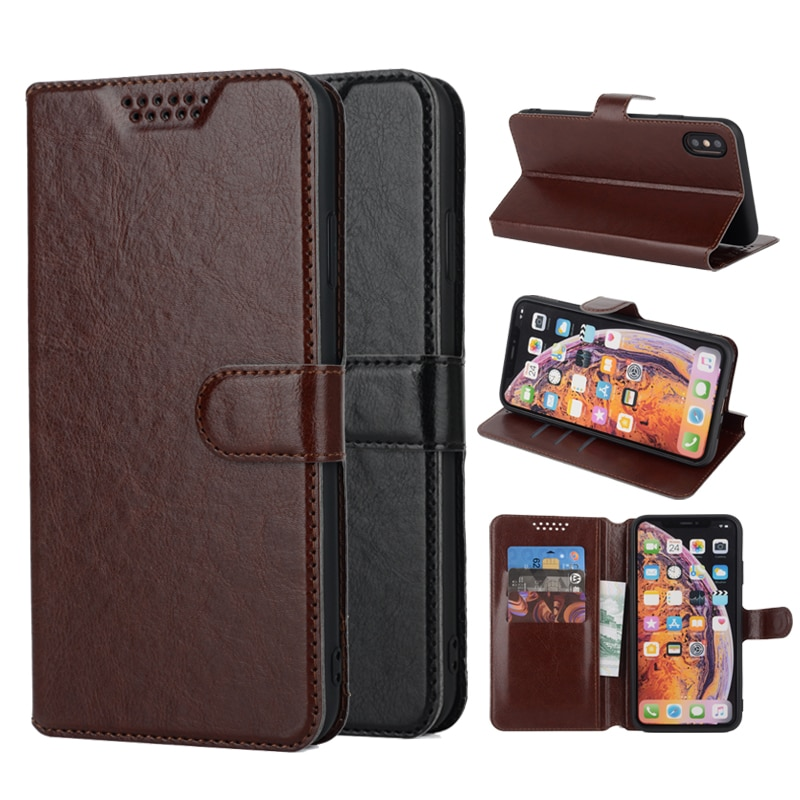 Coque Flip Case for Oukitel C13 C15 C11 C12 U15 Pro K10000 C17 Pro K6000 Pro U20 Plus U16 MAX Leather Wallet Phone Case Cover