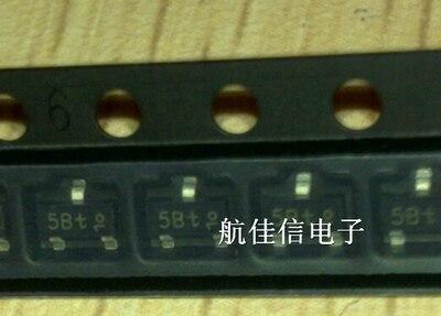 100 unids/lote BC807-25 5B 5B1 807-25 SOT-23 5BW transistores bipolares (PNP) en Stock