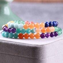Berserk pierre naturelle perles brin Couple Bracelet pour femmes charmes Bracelet mâle bijoux accessoires