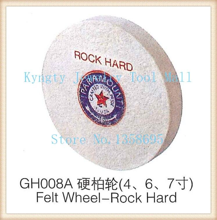 6 polegada Rodas de Feltro de Hard Rock ferramenta jóias equipamentos de polimento de jóias