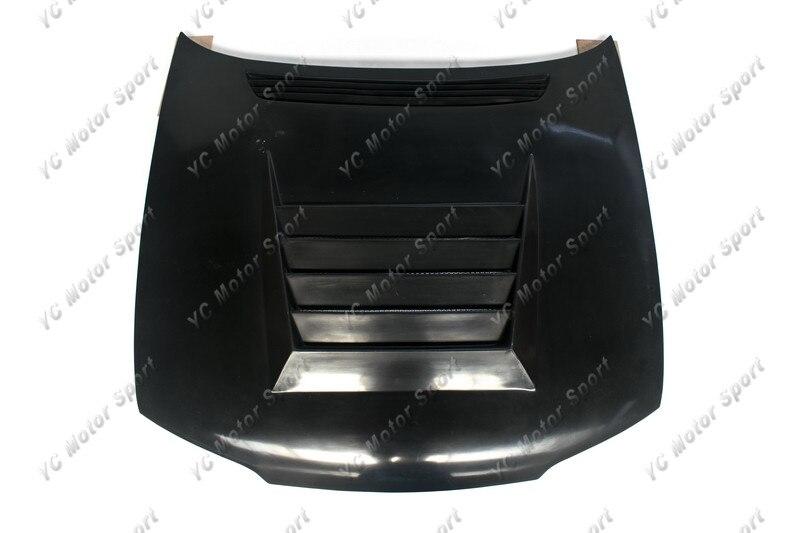 Accesorios de coche FRP fibra de vidrio DM estilo capó ajuste para 1995-1996 R33 GTS Spec 1 cubierta de capó