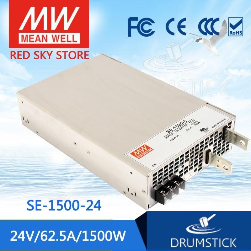 Steady MEAN WELL SE-1500-24 24V 62.5A meanwell SE-1500 24V 1500W Single Output Power Supply