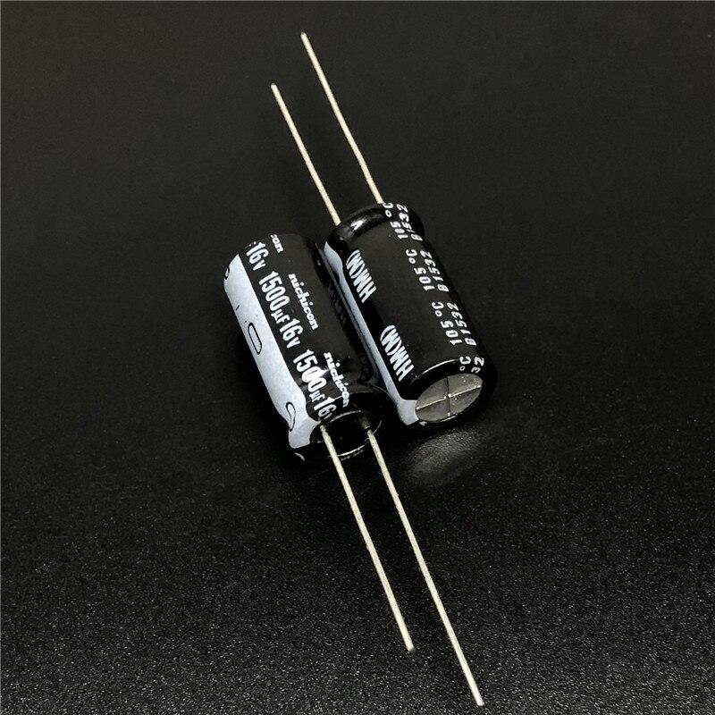 5 stücke/50 stücke 1500uF 16V NICHICON HM Serie Niedrigen Impedanz 10x20mm 16V1500uF Motherboard kondensator