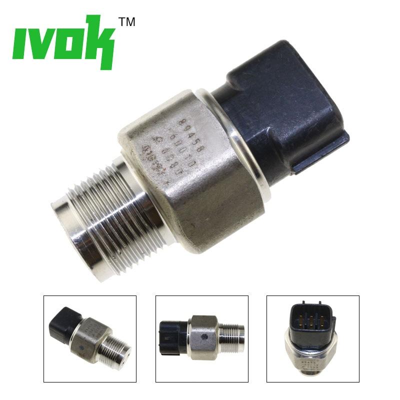Sensor de presión de riel de combustible para Toyota Hino Hiace Hilux Prado 3,0 D4D 499000-6080, 89458-60010, 499000-6081