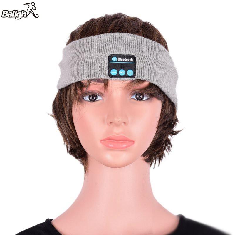 Gorro suave y cálido con Bluetooth, auriculares inteligentes, auriculares inalámbricos con micrófono A