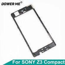 Dower Me Voor Sony Xperia Z3 Compact Z3mini M55w D5833/03 Z3C Terug Midden Frame Speaker Moederbord Houder Achter plaat Antenne