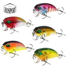 1 pcs High Quality Minnow Fishing Lure 5 Color Fishing Bait 5CM 8.3g Carp Fishing hooks Lead Hard Lure Fishing Tackle