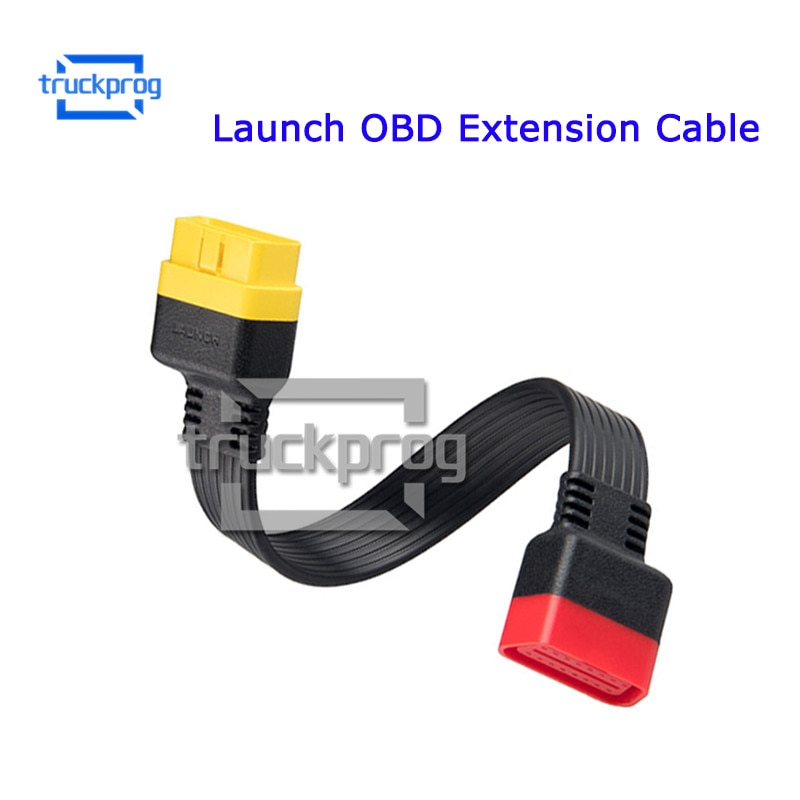 Lançamento OBD Cabo de Extensão para X431 V/V +/PRO/PRO 3/Easydiag 3.0/Mdiag /Golo 2 Principal OBD 16pin masculino para Feminino Conector Estendido
