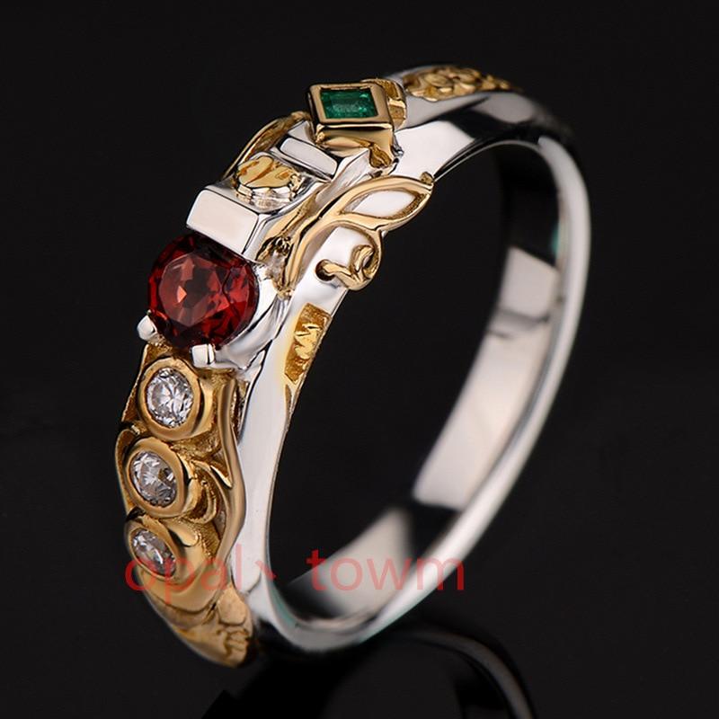 Khada Jhin кольцо виртуальное игровое кольцо LOL