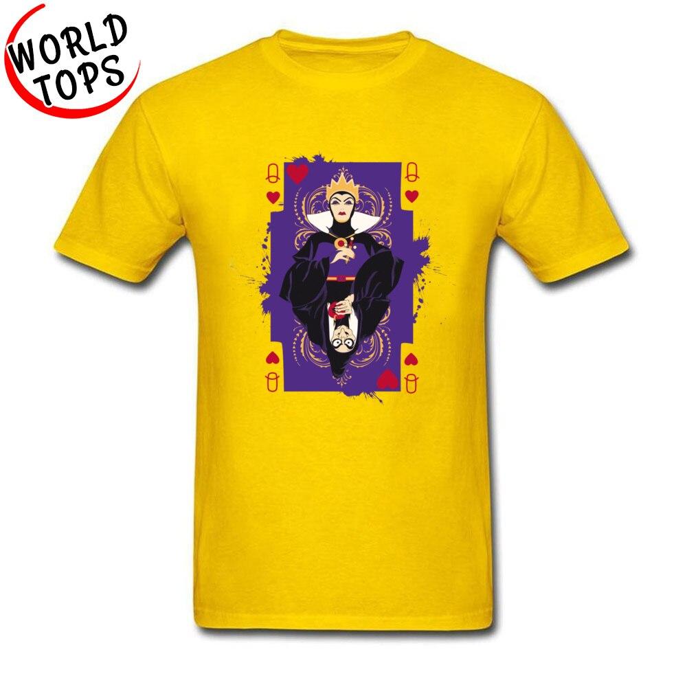 Beliebte Männer T-Shirt Bösen Königin Herr Karte Kaiserin T-shirts Gute Qualität Sweatshirt Spring Fashion T Shirt Für Männer Übergroße 3XL