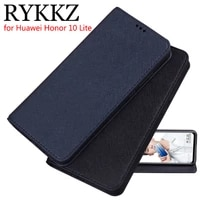 rykkz luxury leather flip cover for huawei honor 10 lite mobile stand case for huawei honor 10 10 lite leather phone case cover