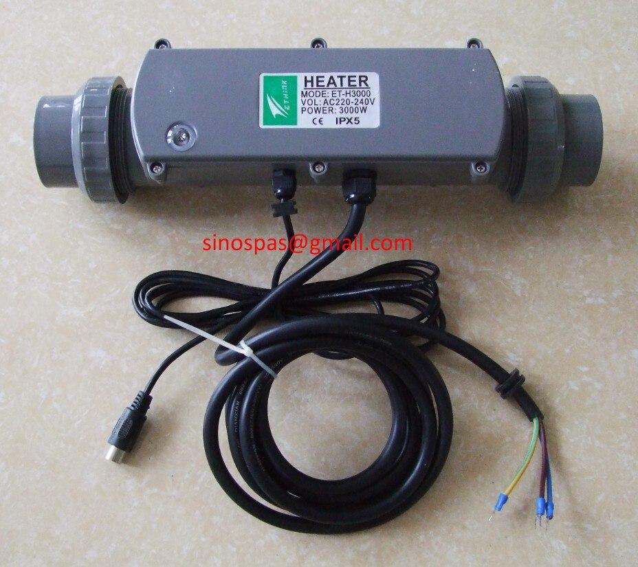 3kw ethink الإستحمام سخان ET-H3000 للصين و لنا سبا + سخان توفير سخان + حوض استحمام لل lagunabay المنزل والحديقة