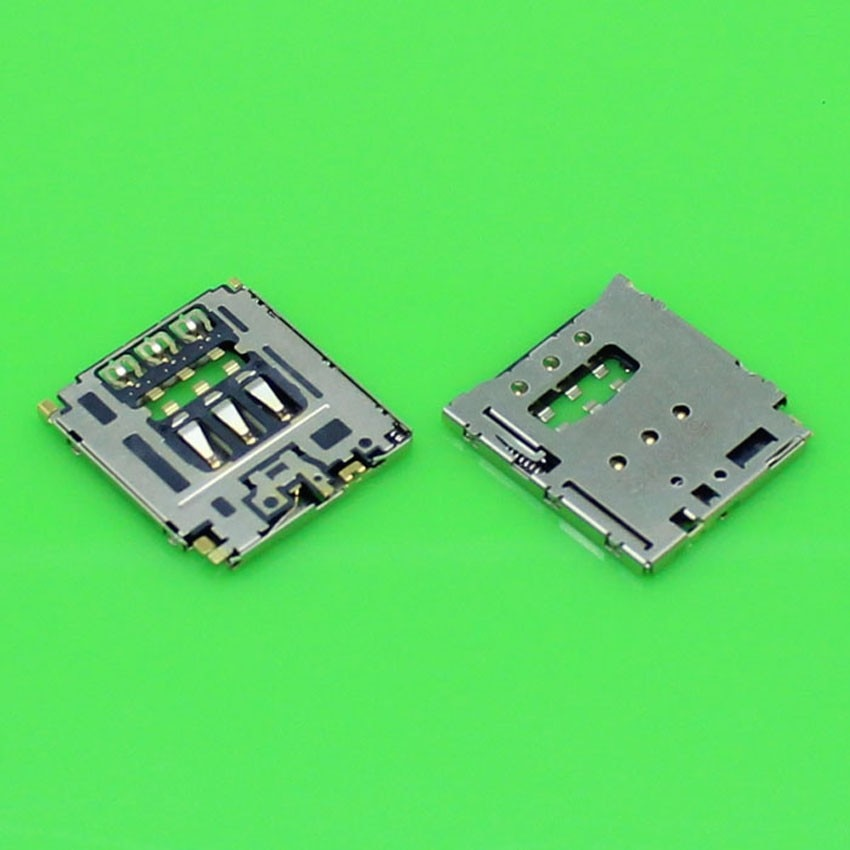 50pcs/lot SIM Card Reader Holder Tray Slot For Blackberry Q5 sim card reader socket