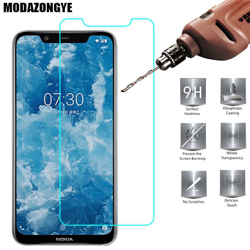 Protector de pantalla Nokia 8,1 vidrio templado Nokia 8,1 Nokia8.1 Phoenix TA-1119 TA-1128 película protectora Nokia 8,1 2018 cristal