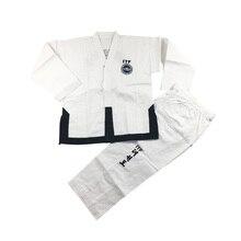 Taekwondo 1-3DAN Dobok Standard ITF uniforme pour maître Assistant instructeur broderie exquise Taekwondo costume