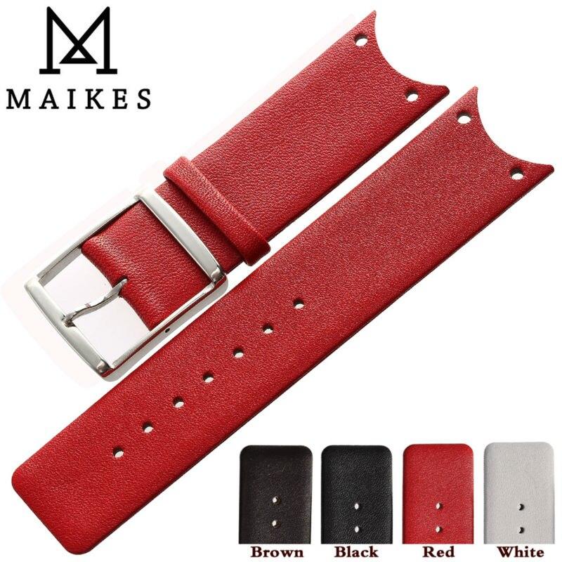 MAIKES-Correa de reloj de alta calidad, correa de reloj de Piel De...