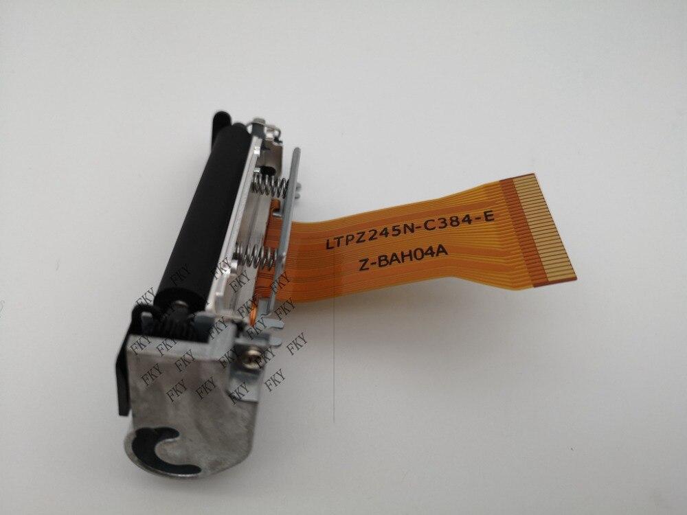 Nueva impresora térmica original LTPZ245N-C384-E, impresora térmica de recibos portátil LTPZ245, accesorios de impresión LTPZ245N LTPZ245N-C384