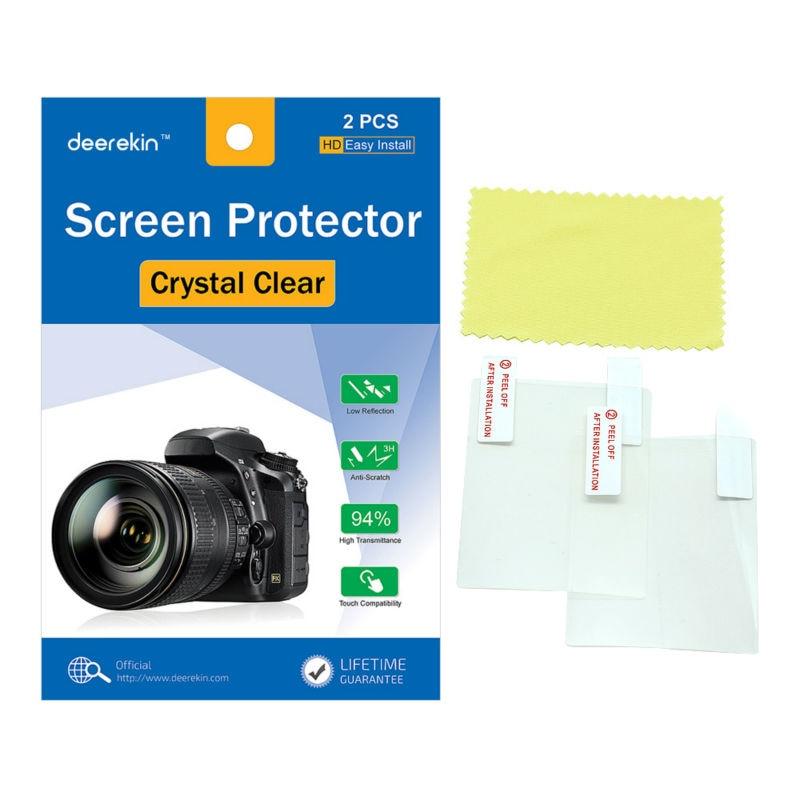 2x Deerekin LCD Screen Protector Protective Film for Fujifilm X-T100 X-T10 X-T20 X-T30 X-A2 X-E3 X30 XT10 XT20 XT30 XA2 XE3 X30