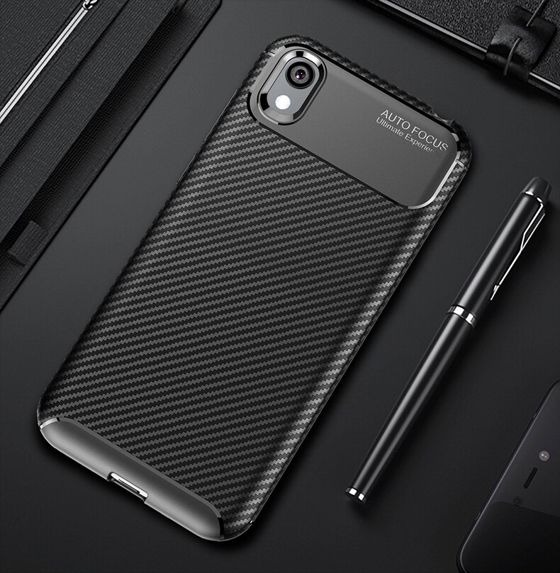 Чехол Honor 8 S 2020, мягкий силиконовый чехол из углеродного волокна, защита для телефона, задняя крышка, противоударный чехол для Huawei Honor 8 S 8 S S8 ...