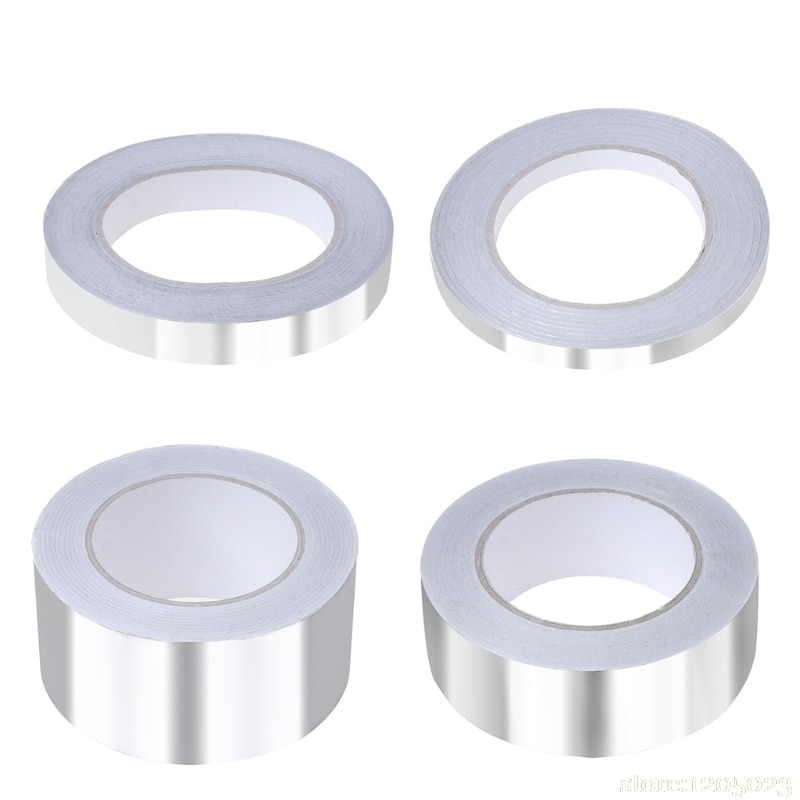 Ruban adhésif en Aluminium   Ruban adhésif de scellage, ruban adhésif résistant à la chaleur, haute température W315 de 40 mètres