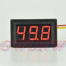 GWUNW BY356V تيار مستمر 0-50 فولت 3 بت الفولتميتر الرقمي عداد لوحة جهاز قياس الجهد الكهربائي متر