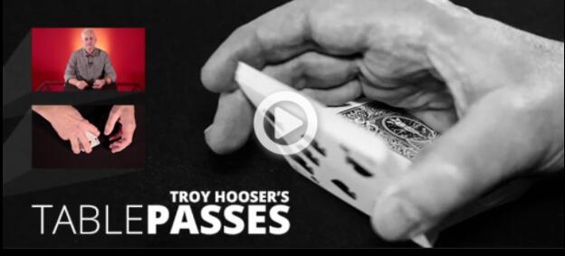 Tabla pasa por Troy Hooser-trucos de magia