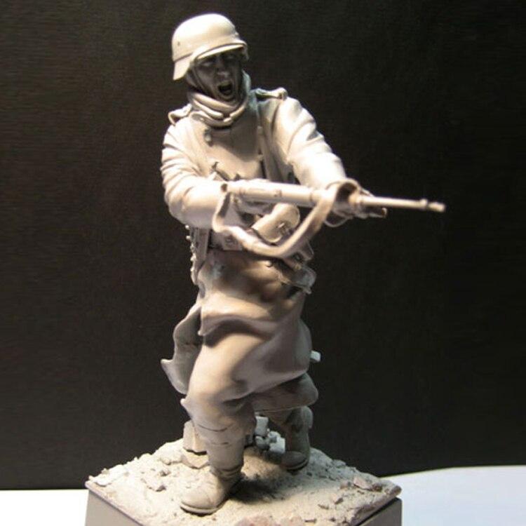 Figuras de resina 1/16 modelo histórico kits soldado sin pintar