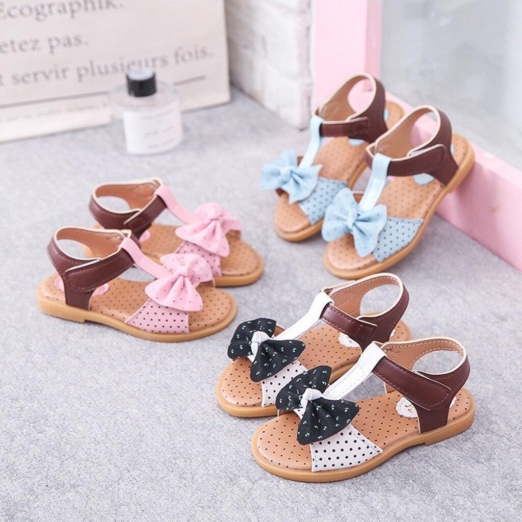 2019 zapatos de verano para niñas sandalias de Croxes para niñas Mini zapatos para niños de Melissa sandalias de princesa individual con nudo mariposa zapatillas