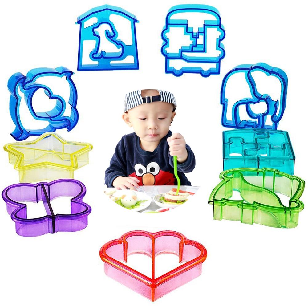 Резак для хлеба, ножи для печенья, выпечка, хлебный пресс для детей, ланч-мейкер, DIY, в милой форме V5770