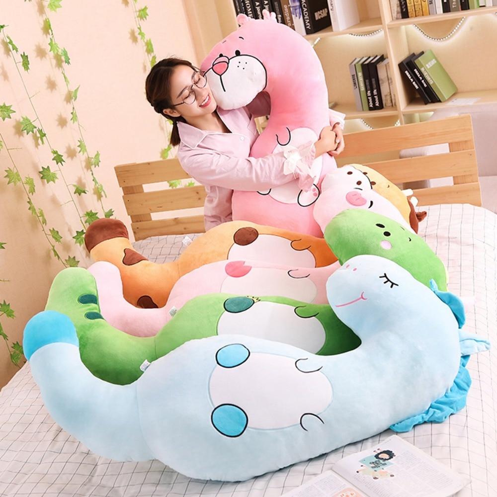 130cm Cute Doll Appease Sleeping Pillow Kids Room Decor Toy For Children Christmas Halloween Birthda