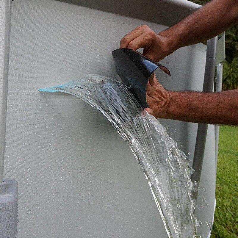 Cinta de reparación de fugas flexible súper fuerte tubo de manguera de agua de conexión de rescate de reparación rápida jardín resistente al agua cinta de fuga de parada rápida