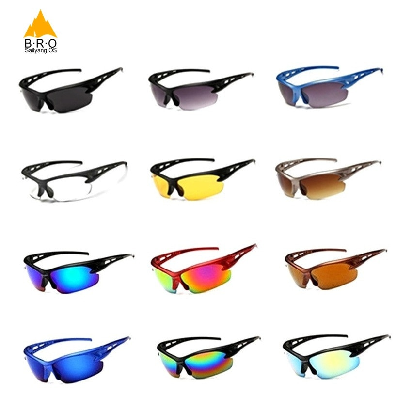 Men Women UV400 Sport Sunglasses Cycling Glasses for Bicycles Sports Eyewear MTB Glasses Running Bike Sunglasses Cycling Goggles