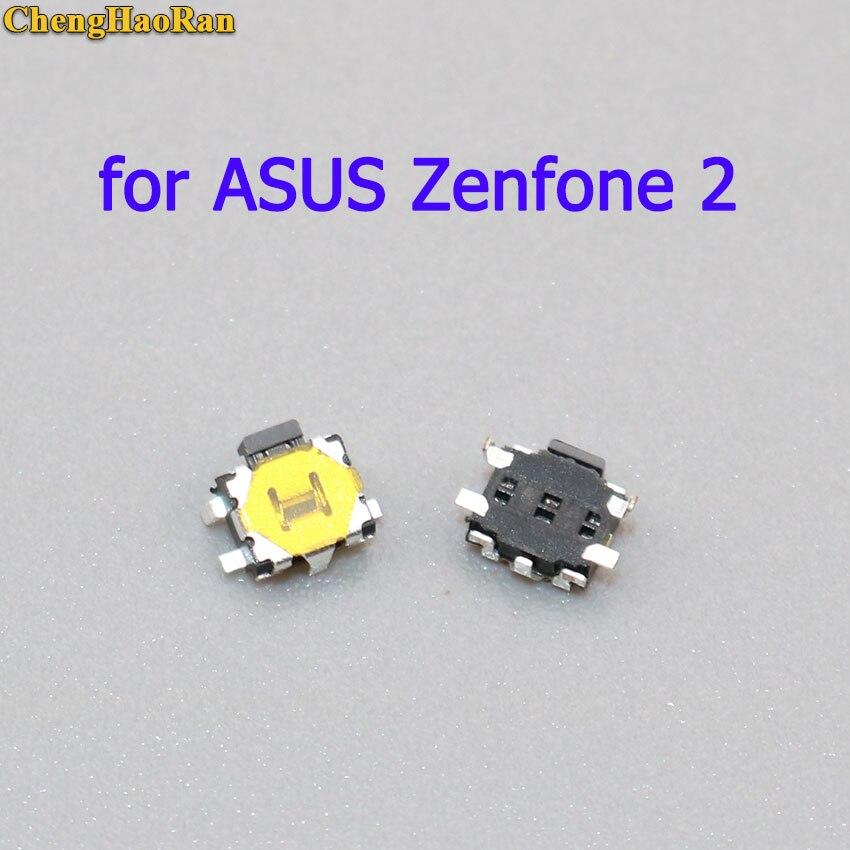 ChengHaoRan 5 uds para ASUS Zenfone 2 ze551ml ze550ml z00adb interruptor de encendido/apagado