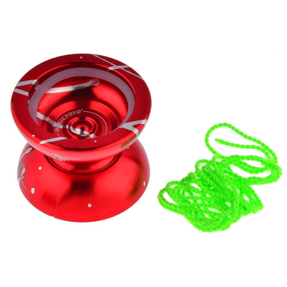 Nuevo yoyo mágico de moda N11, YO-YO de aluminio avanzado profesional, juguetes clásicos, regalo para niños
