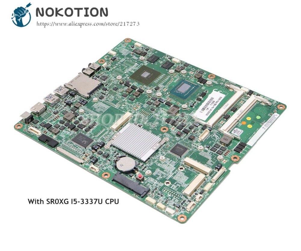 NOKOTION 90002141 MB FRU W8S CIHM76S لينوفو IdeaCentre الأفق 27 قطعة اللوحة H76 DDR3 SR0XG I5-3337U وحدة المعالجة المركزية 620M