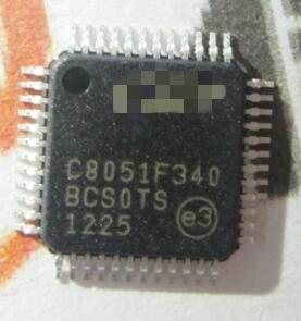 100% الأصلي جديد C8051F340-GQR C8051F340 8051 MCU فلاش 64K 48TQFP IC موصل رقاقة x50PCS