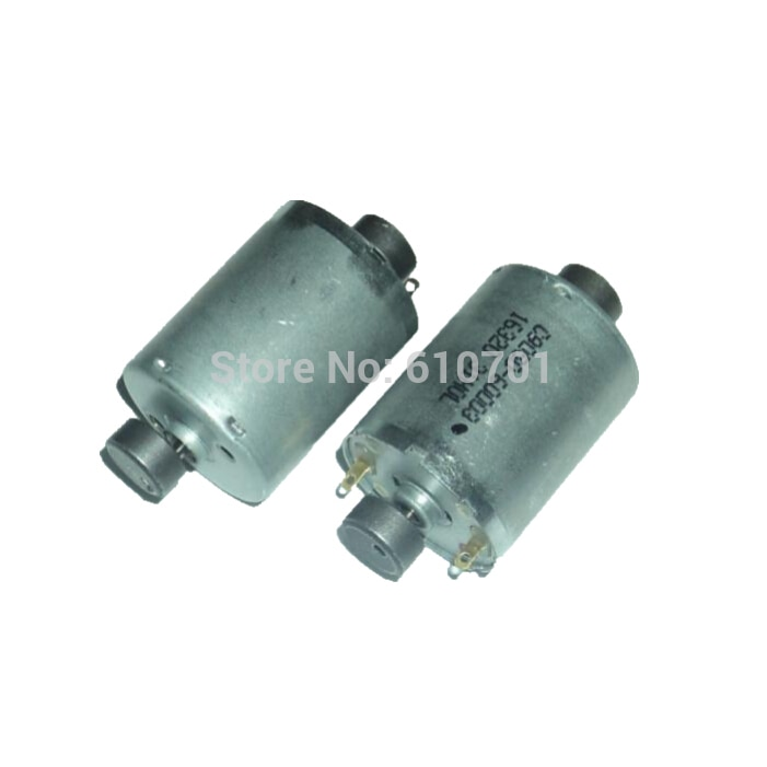2 uds RK370 doble eje vibración Motor doble vibración 6-12V Dual Shock 6V 3000RPM 12V 6000RPM