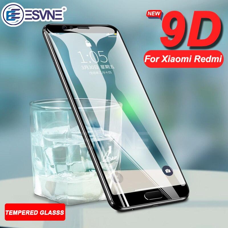 ESVNE 9D закаленное защитное стекло для Xiaomi redmi Note 5 7 стекло 6 Pro 5A Защитная пленка для экрана redmi 6a стекло 4X 5 plus 5a 6 6Pro стекло