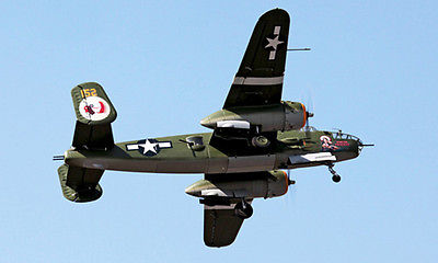 Escala Skyflight B25 Apache princesa hélice RC ARF avión modelo Metal retracción Avión RC TH03131