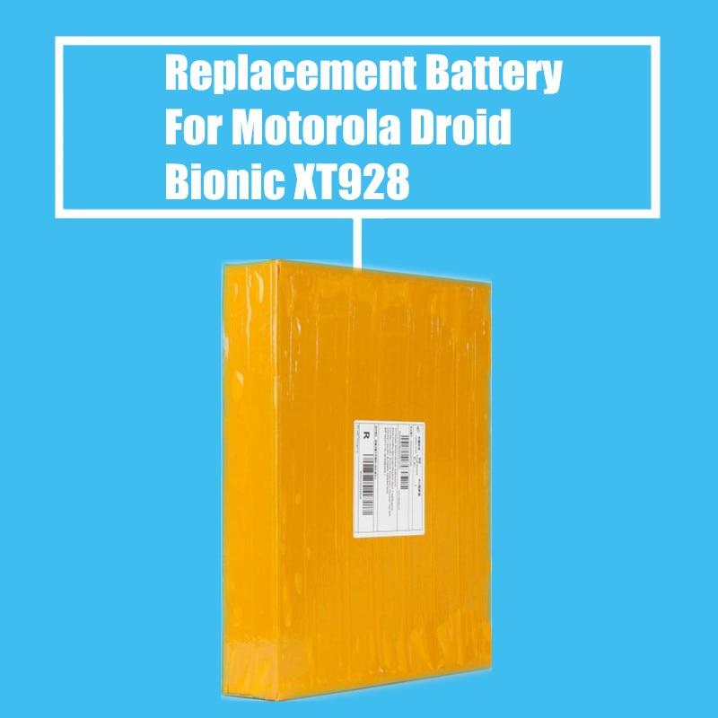 10 unids/pack 1735 mah reemplazo de la batería para Motorola Droid Bionic MB865 ATTRIX2 ME865 XT928 XT550 XT875 de alta calidad