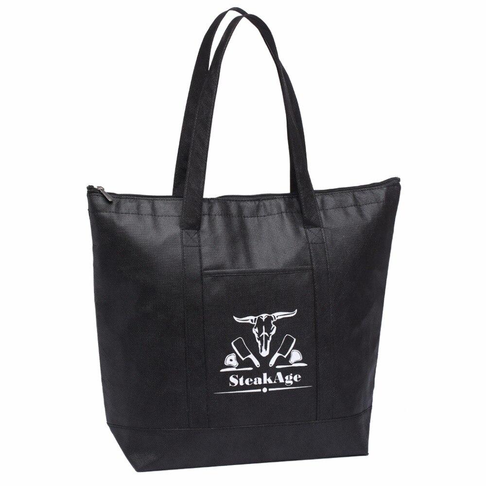 Bolso aislante personalizado de alta calidad, bolsa grande de Nevera con logotipo...