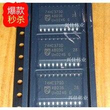 10 PCS Nieuwe originele authentieke klink 74HC373 74HC373D SN74HC373DWR SOP20