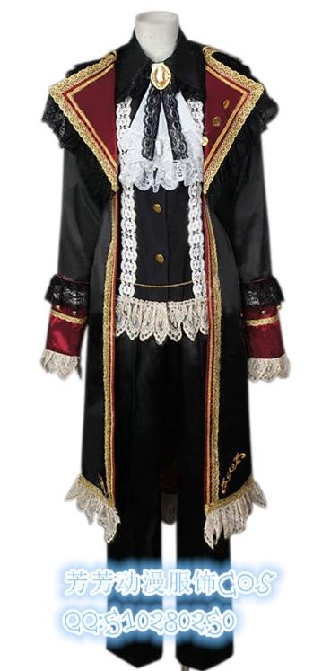 2017 Англия Великобритания оси силы хеталия артер Киркланд косплей костюм пират косплей костюм