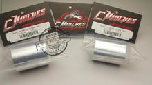 2 pc 10 M G-WOLVES En Aluminium renforcé de fibers De Bande à Protéger 1/10 1/8 1/16 1/5 RC Touring Drift Voiture Shell Corps Composite matériel