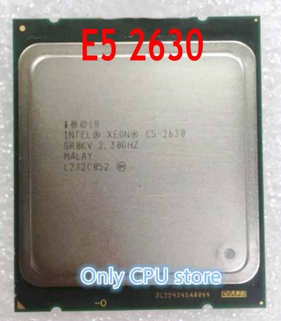 Intel xeon e5 2630 SR0KV 2,3 GHZ 7 2GT/s 15MB seis CORE LGA2011 E5-2630 Processore CPU